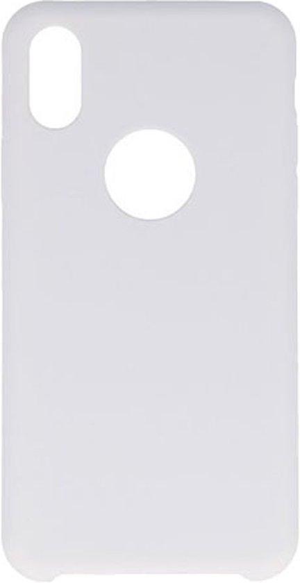 BestCases.nl Apple iPhone X Premium TPU back case hoesje Wit