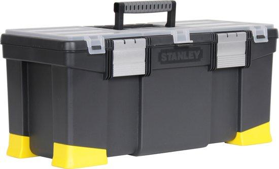 Stanley Gereedschapskoffer met alu sluitingen