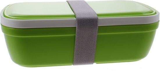 Summit Lunchbox My Bento Met Bestek 20 Cm Groen 1,5 Liter
