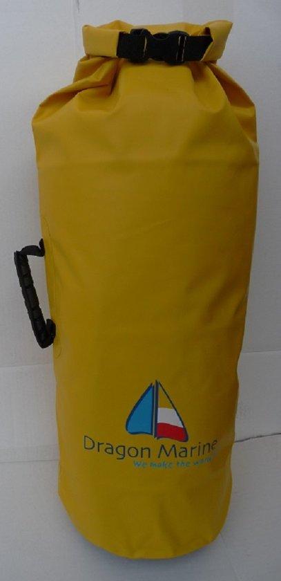 Drybag / Waterdichte tas, DRAGON MARINE, 45 liter, Geel