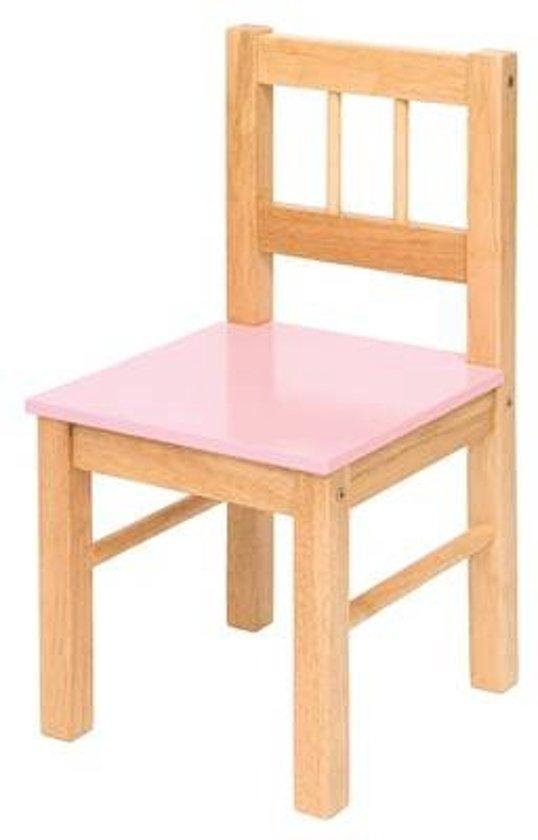Kinderstoel Hout Inklapbaar.Bol Com Bigjigs Kinderstoel Hout Roze