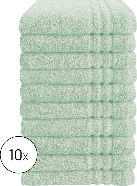 Byrklund Set Mint - 10x Handdoek 50x100cm
