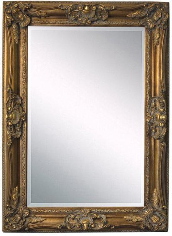 Fortuijn barok spiegel hout 230x130 cm goud for Barok spiegel groot
