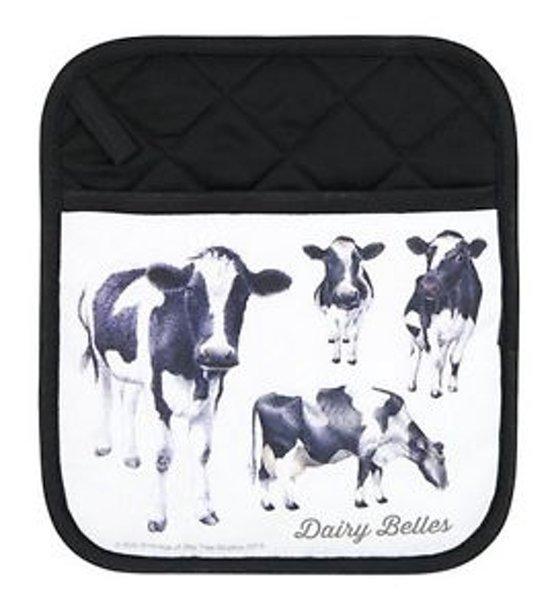 2 Ashdene pannenlappen koe koeien thema dieren