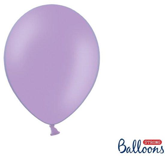 """""""""""""""Strong Ballonnen 27cm, Pastel Lavender blauw (1 zakje met 10 stuks)"""""""""""""""