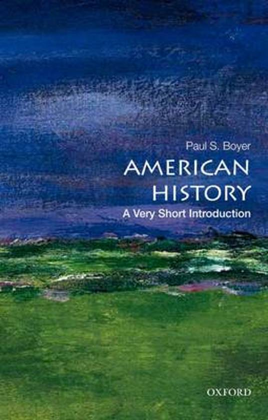 AMERICAN HISTORY VSI P