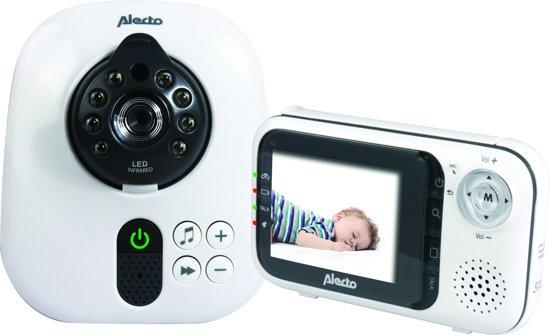 Bolcom Alecto Dvm 80 Babyfoon Met Camera 28 Uitbreidbare