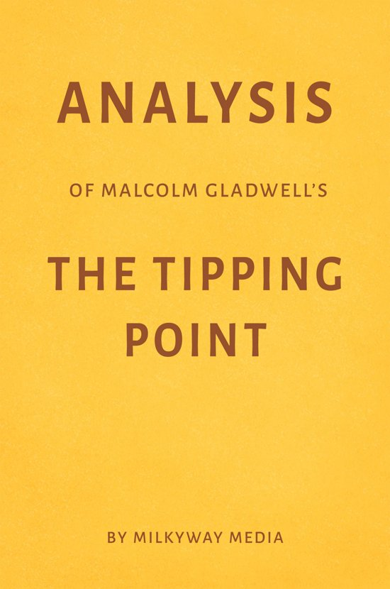 the tipping point analysis