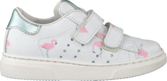96421c2cc41 bol.com | Clic! Meisjes Sneakers 9476 - Wit - Maat 27