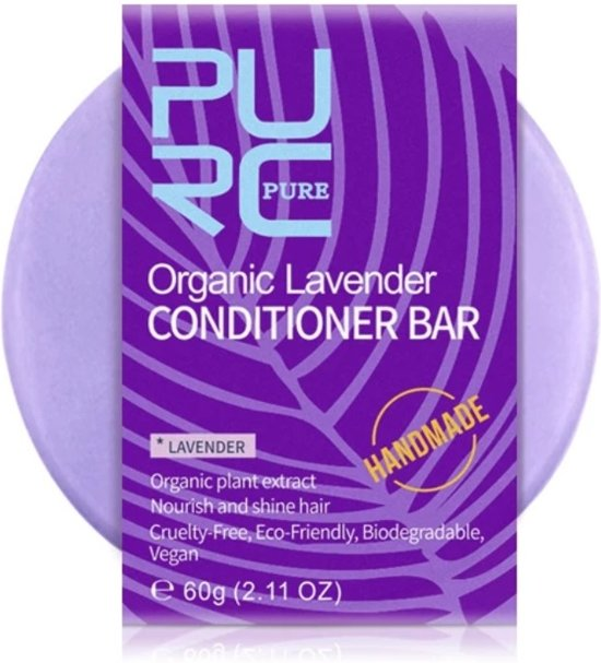 Handmade conditioner bar - Lavendel