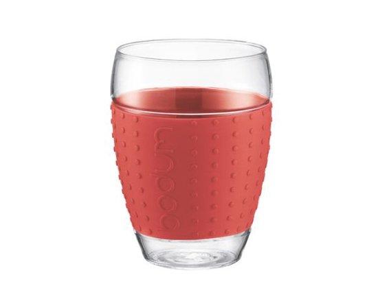 Bodum Pavina Glas - 0.45 l - 2 stuks - Rood