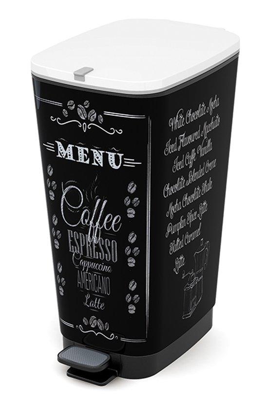 Kis Chic Bin Coffee Menu Prullenbak - 50 l