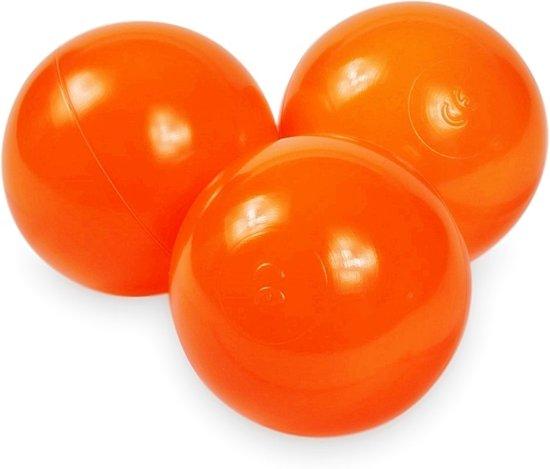Ballenbak ballen oranje (70mm) voor ballenbak 100 stuks