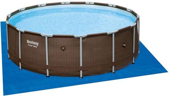 Bestway Zwembad stalen frame rond 427 x 107 cm