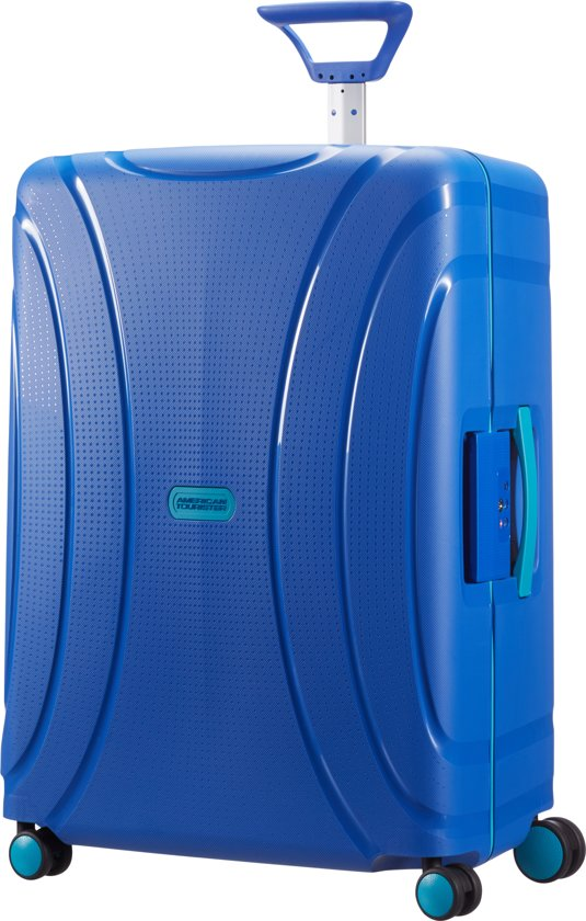 ce5260a46fa American Tourister Lock 'n Roll Spinner - Reiskoffer - 85 l - Skydiver Blue