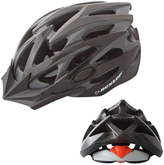 DUNLOP MTB Mountainbike fietshelm - maat S Hoofdomtrek 51-55cm - Zwart