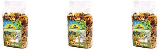 JR Farm - Fruitsalade - 200g - Verpakt per 3 - Knaagdierensnack