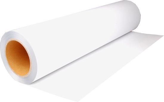 Flexfolie Wit 10 meter lang  x 50 cm breed Heattransfer transfer Flex Textielprint