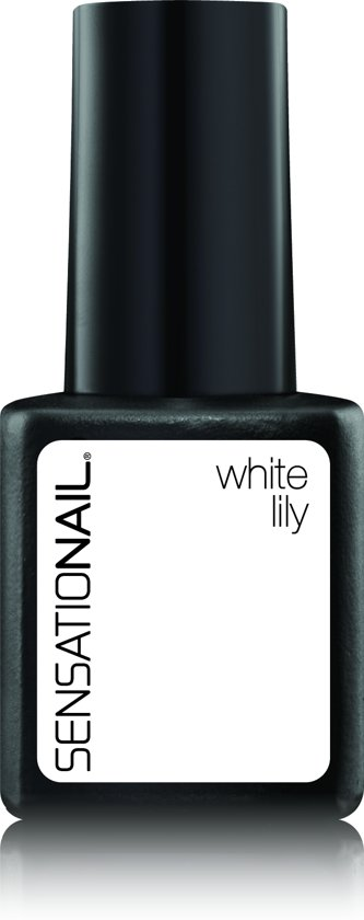 Sensationail Gel Polish - White Lily - Wit - Gel nagellak