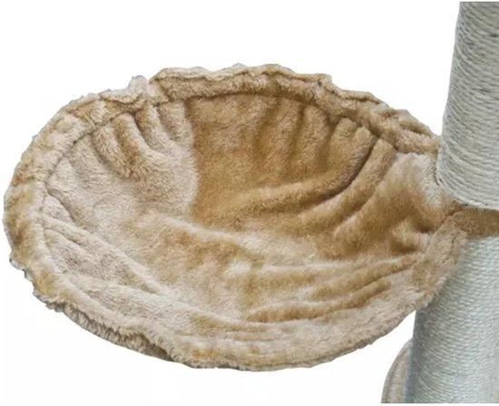 Krabpaal Saartje 230/260 cm 1 huisje - Beige