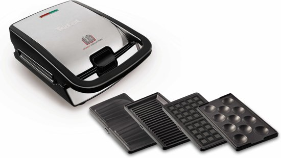 Tefal SW854D Snack Collection Multisnack-apparaat - Contactgrill