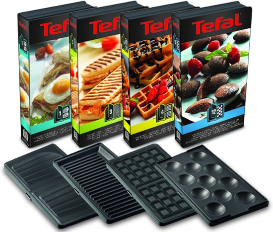 Tefal Snack Collection Multisnack-apparaat SW854D - Contactgrill