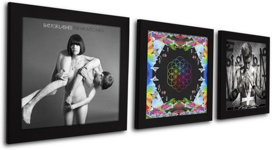 Foto Inlijsten Tips : Bol lp vinyl wissellijst frame fotolijst zwart