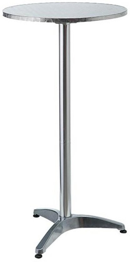 Statafel bistro receptietafel hoog 60 x 120 cm