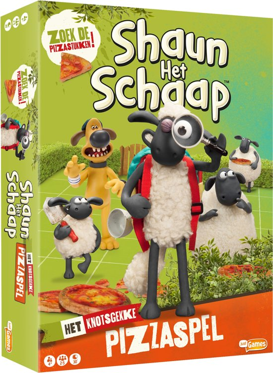 Shaun het Schaap - bordspel