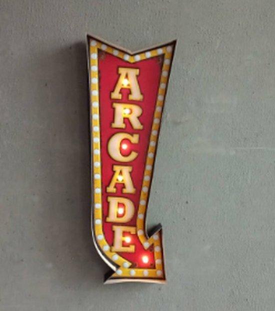 Retro Led Sign Arcade