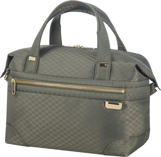 Samsonite Beautycase - Uplite Beauty Case Gunmetal Green/Gold