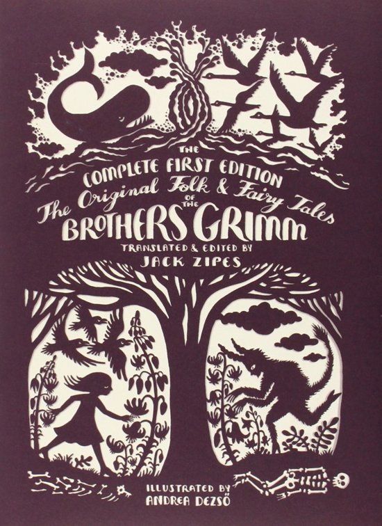 Boek cover The Original Folk and Fairy Tales of the Brothers Grimm van andrea dezso (Hardcover)
