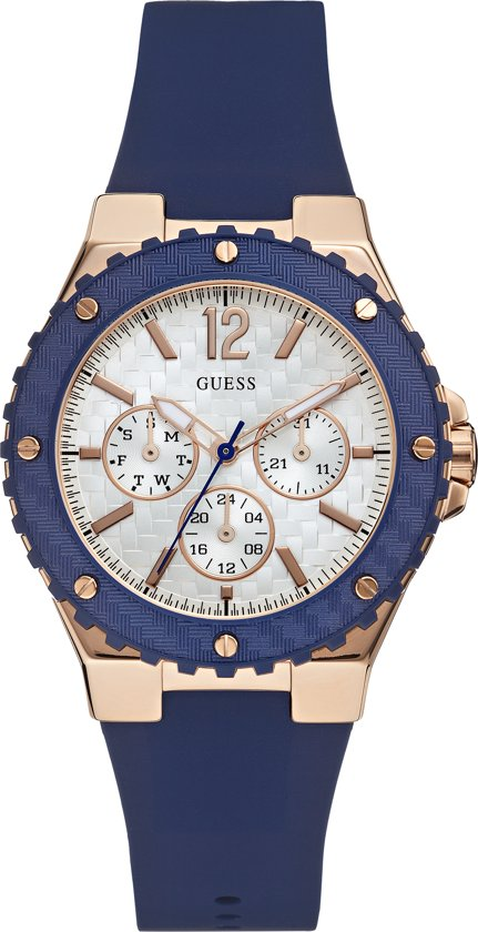 Guess - W0571L1 Jet Setter - Horloge - 39.0 mm - Blauw