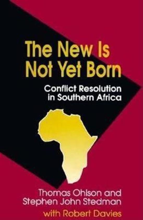 The New Is Not Yet Born