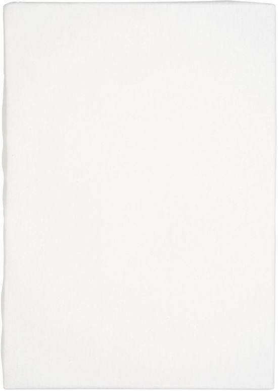 Walra Hoeslaken Jersey Off White-160/180 x 200/220 cm