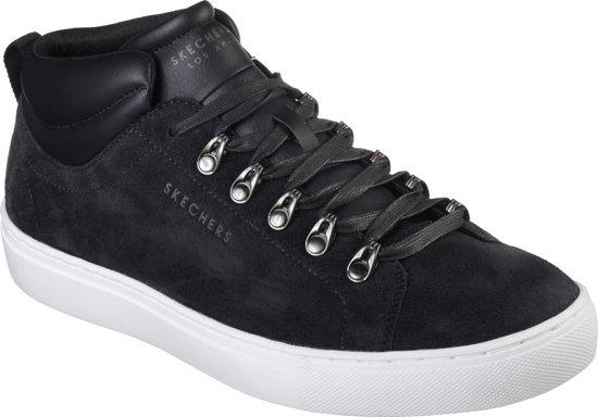 Hablow Street Skechers Heren Sneakers Black Side E7xSnH5qgw