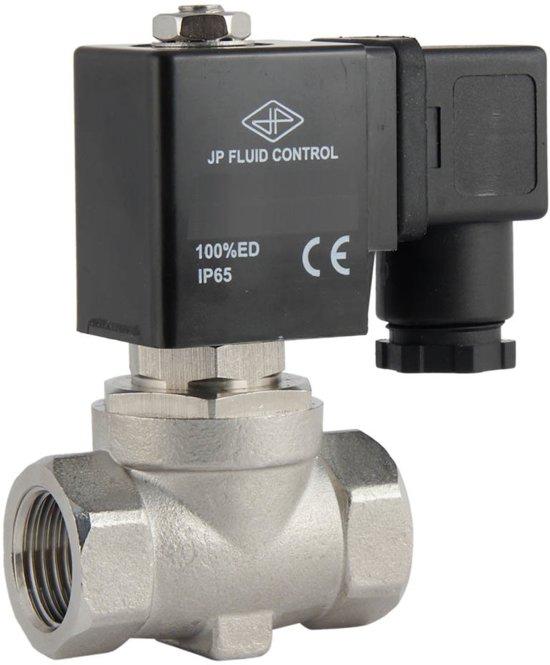 Magneetventiel ST-SA 1/2'' rvs FKM 0-16bar 120V AC