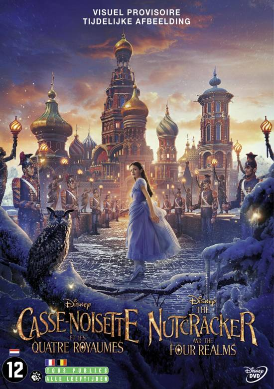 DVD cover van The Nutcracker and the Four Realms