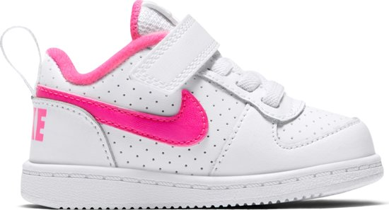 pretty nice b1063 4903c Nike Court Borough Low (TDv) Sneakers Kinderen - White Pink Blast
