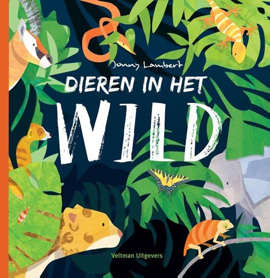 Boek cover Dieren in het wild van Jonny Lambert (Hardcover)