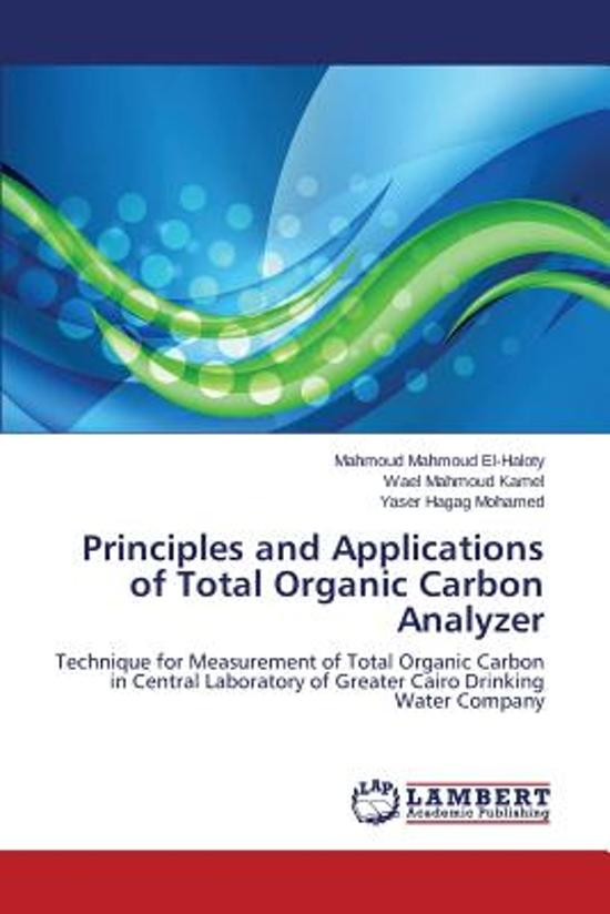 Principles and Applications of Total Organic Carbon Analyzer