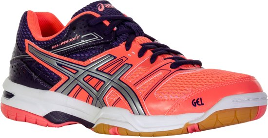 asics gel rocket 7 zwart dames