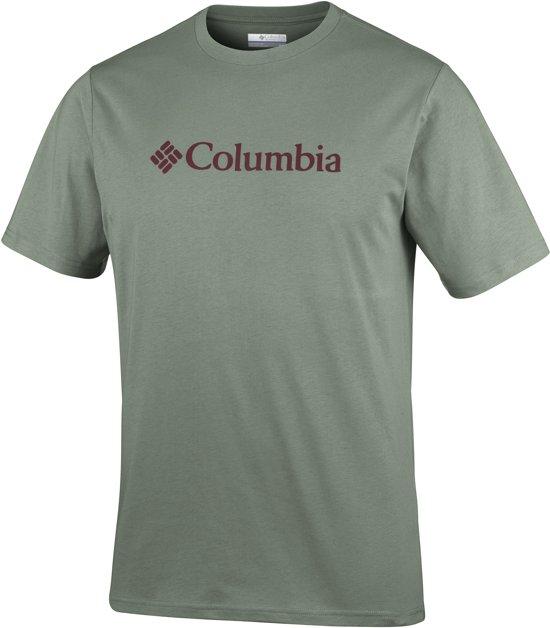 Csc Basic Logo Columbia Shirt Short Sleeve HerenCypress Fl1JTKc
