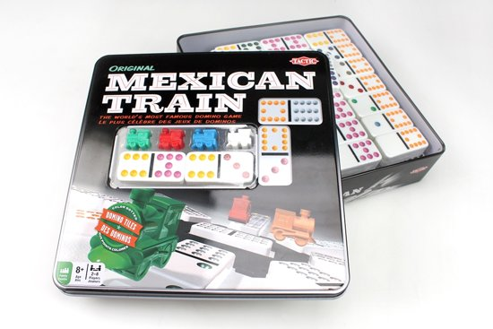 Tactic - Spel - Domino - Mexican Train - In blik