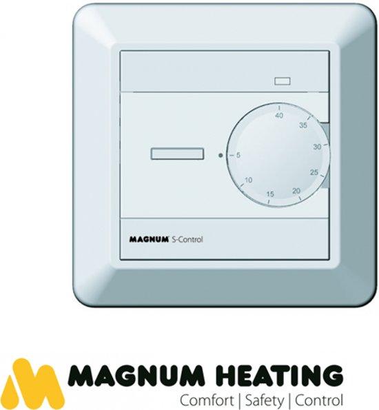 MAGNUM S-Control Thermostaat AAN/UIT (inbouw), incl. vloersensor