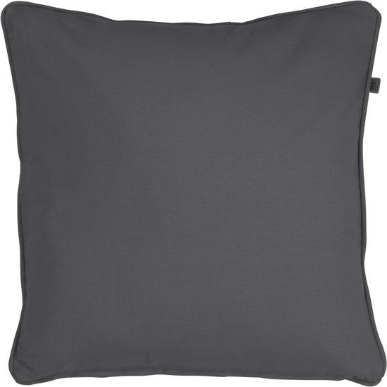 Kussenhoes Java 50x50 donker grijs