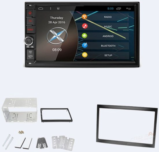 2 din android dab autoradio navigatie citro n c2 c3 jumpy peugeot 207 307 expert. Black Bedroom Furniture Sets. Home Design Ideas