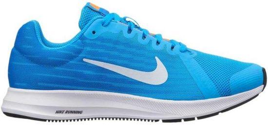 Nike Downshifter 8 BG Hardloopschoenen Kinderen - Blue Hero/Football Grey-Cobalt