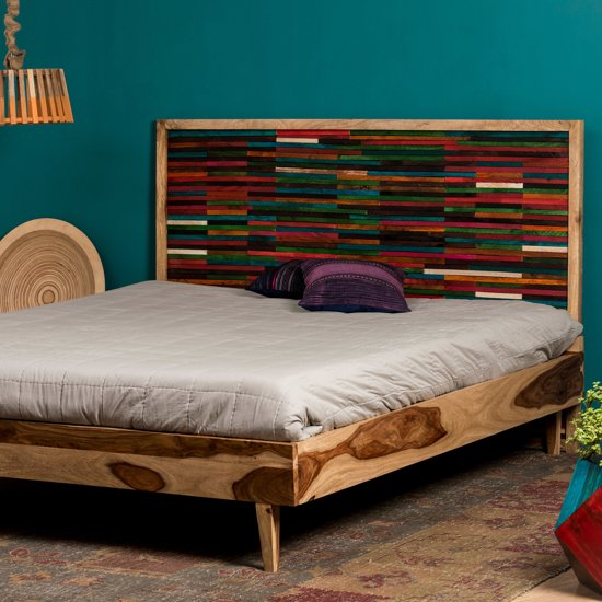 Bed 140x200 Hout.Bol Com Native Home Tweepersoonsbed 180 X 200 Cm Bed Frame Hout