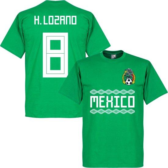 quality design 8375d 0ab62 Mexico H. Lozano 8 Team T-Shirt - M